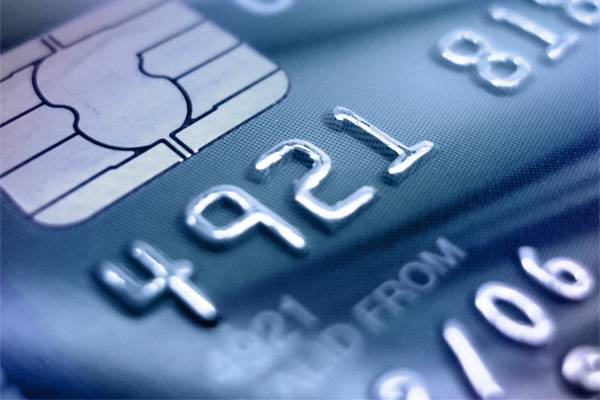 picture of a debit card