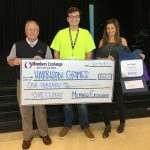 Harrison Grimes is the winner of MECU's Star Student Award.