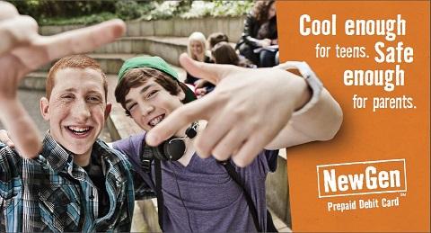 NextGen Prepaid Debit Card is cool enough for teens, but safe enough for parents.