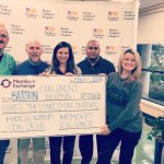 MECU donates $3,500 to Children's Hospital.