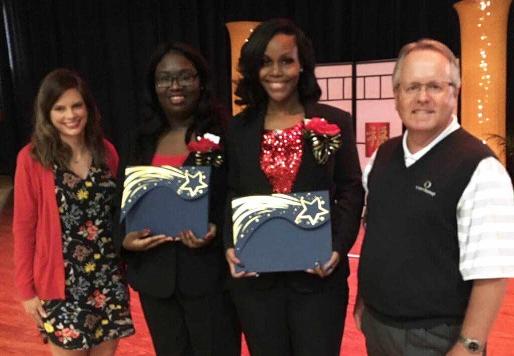 Callaway High School seniors receive MECU scholarships.
