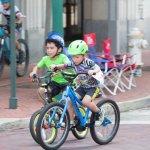 Bike Riders at the MECU Kids Fun Race