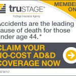 Accidents are the leading cause of death for those under age 44.