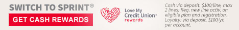 Love My Credit Union Rewards: Enjoy exclusive savings every day.