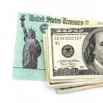 treasury tax check with cash