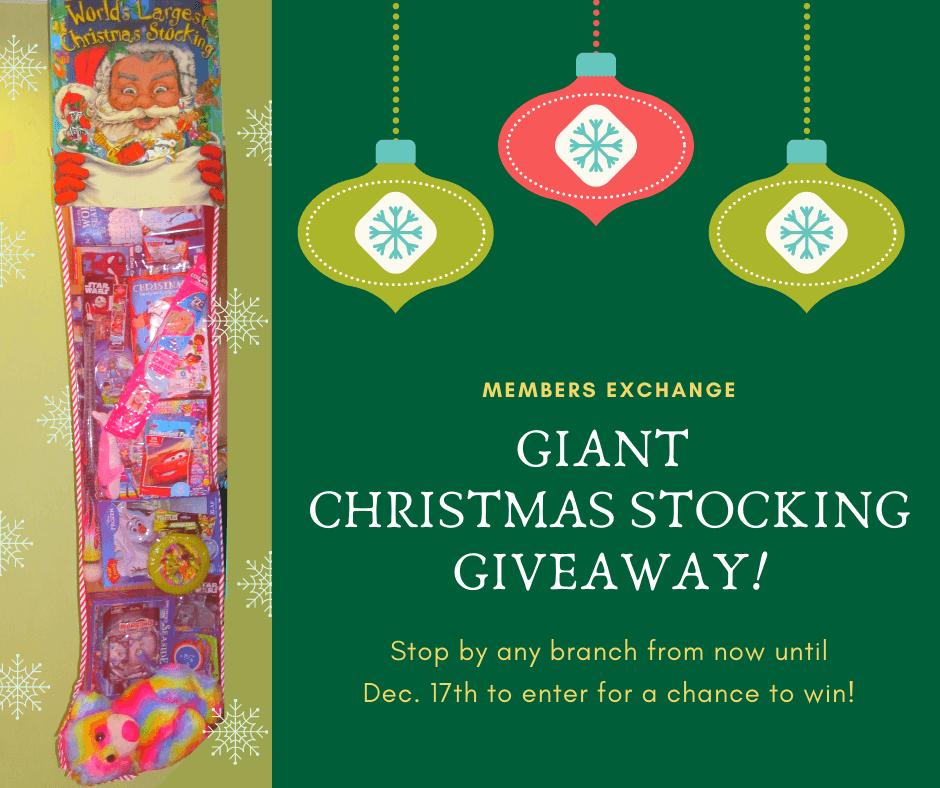 Christmas Stocking give a way